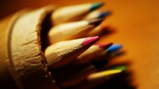 Free Colored Pencils Royalty Free Stock Photo - 90155695