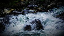 Free Water Splashing On Rocks Royalty Free Stock Image - 90156316