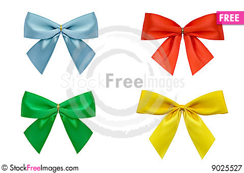Gift Bow Stock Photo