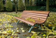 Free Lonely Bench Royalty Free Stock Photo - 9020765