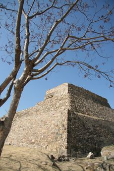 Ruins Of Monte Alban Royalty Free Stock Photography