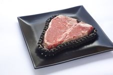 Free Steak And Chain Stock Photo - 9021990
