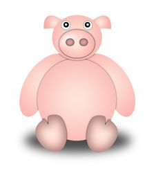 Free Pig Royalty Free Stock Image - 9023146