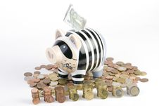 Free Piggybank Royalty Free Stock Photos - 9023628