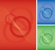 Abstract Red Circle Background Royalty Free Stock Images