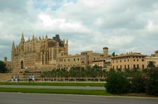 Free The Cathedral In Palma De Mallorca, Spain Stock Photo - 9024080
