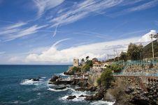 Free Italian Riviera Coast Royalty Free Stock Photo - 9024675