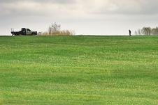 Free Man On The Horizon Stock Photography - 9024832
