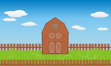 Free Barn Royalty Free Stock Images - 9026079