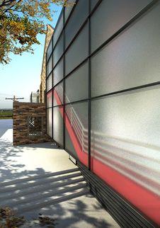 Free Glass Wall Stock Image - 9026151
