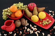 Free Fruit And Nuts Stock Photo - 9026250