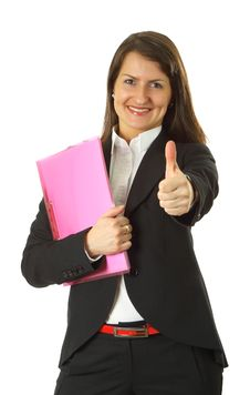 Successful Young Business Woman Stock Images