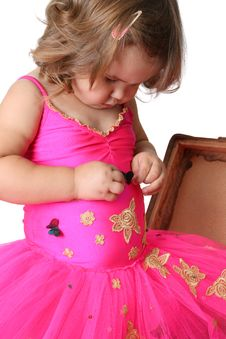 Little Girl Royalty Free Stock Photography