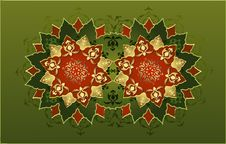 Free Traditional Ottoman Turkish Tile Illustration Stock Images - 9028834