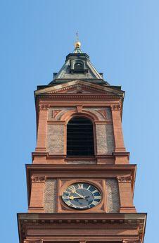 Free Tower Clock Royalty Free Stock Image - 9028956