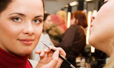 Free Young Woman In The Beauty Salon Stock Photo - 9028960