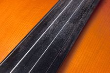 Detail Of A Violin Stock Photography