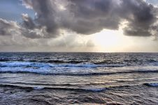 Free Calm Waters Under Cloudy Skies Royalty Free Stock Image - 90213666
