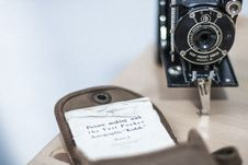 Free Vintage Kodak Camera Royalty Free Stock Photos - 90214948