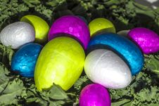 Free A Healthy Easter Eggs Salad Royalty Free Stock Image - 90220106