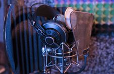Free Gray Metal Mic Condenser Stock Photography - 90278262