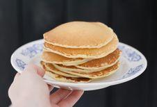 Free American Pancakes Royalty Free Stock Photos - 90280998