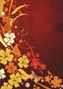 Free Silhouettes Of Colours And The Butterfly Royalty Free Stock Image - 9039606
