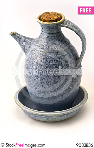 Oil cruet Stock Photo