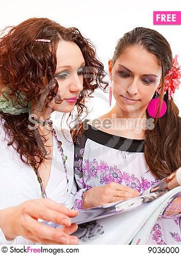Fashionistas Stock Photo