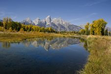 Free Grand Teton National Park Royalty Free Stock Images - 9030019