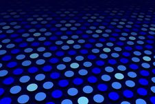 Free Blue Spot Pattern Royalty Free Stock Images - 9030639