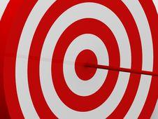 Free Target Royalty Free Stock Photo - 9031065