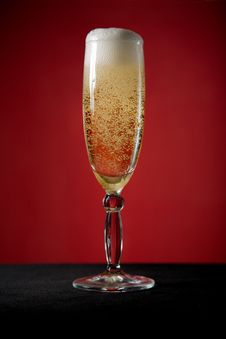 Free Champagne Glass Royalty Free Stock Photos - 9031218
