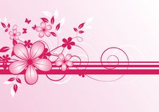 Free Abstract Floral Background Stock Photo - 9031780