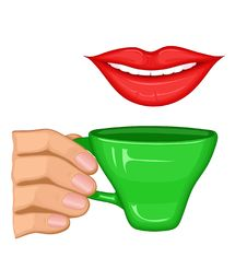 Free Cup Illustration Stock Photo - 9032460