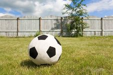 Free Country Football Royalty Free Stock Photography - 9033617