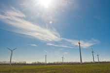 Free Wind Power Station Stock Image - 9033621