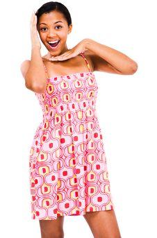 Free Teenage Girl Gesturing Stock Image - 9033701