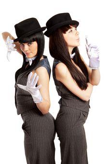 Free Duo Royalty Free Stock Photos - 9034048