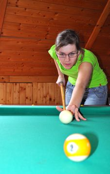Free Billiard Game Royalty Free Stock Images - 9034969