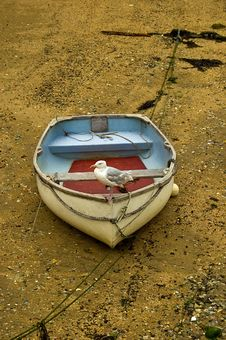 Free Old Boat Royalty Free Stock Image - 9035276