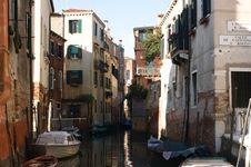 Free Venice Canal Stock Photo - 9035540