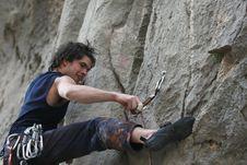 Free Climber Stock Image - 9036191