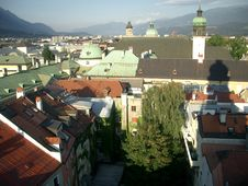 Free Roofs Of Innsbruck Royalty Free Stock Image - 9036216