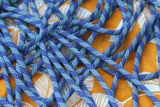 Climbing Rope Detail Stock Photography
