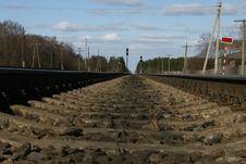 Free Railway Royalty Free Stock Image - 9036316