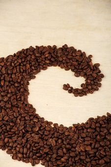 Free Pattern Of Coffee Royalty Free Stock Photography - 9036617