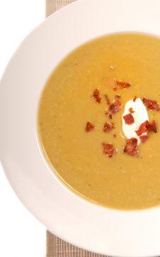 Free Split Pea Soup Royalty Free Stock Image - 9037336