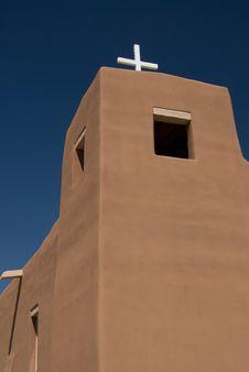 Free New Mexico Adobe Church Stock Photography - 9037972