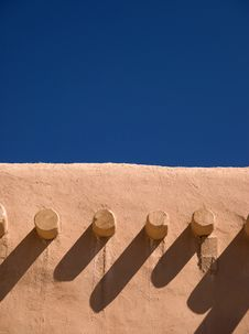 Free Adobe Roof And Sky Stock Photos - 9038263